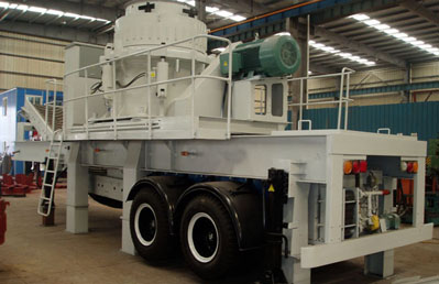 Shanghai DMAN Mobile Cone Crusher Station Working Site
