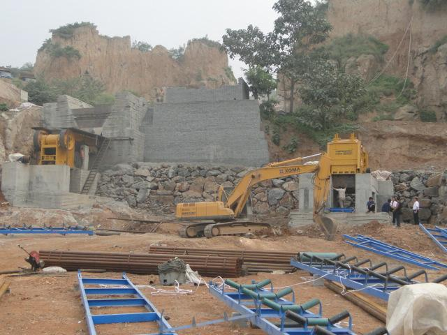 400-450tph Crushing Plant in Ghana From DMAN
