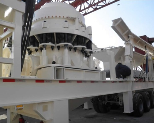 Shanghai DMAN CS Symons Cone Crusher New Application